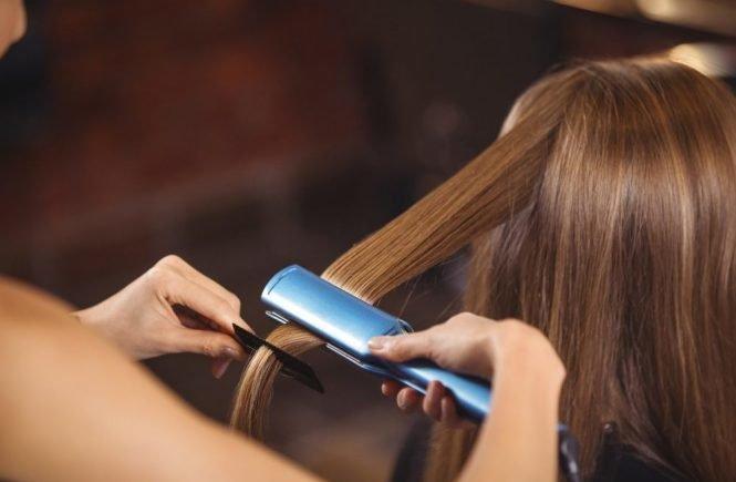 Что такое выпрямление волос