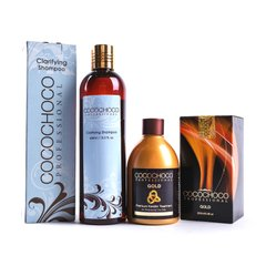 Cocochoco Gold 250 ml + Clarifying shampoo 400 ml